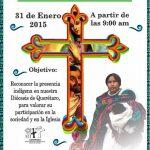 Campaña de concientización de la presencia indígena en la diócesis