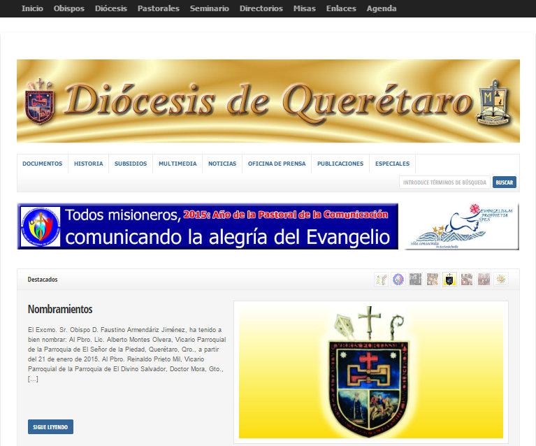www.diocesisdequeretaro.org