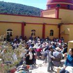 Visita pastoral a la comunidad de Chavarrías