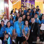 Fiesta patronal en la comunidad Dolores de Enmedio, Parroquia de Santa Lucía
