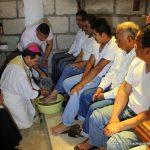 Jueves Santo en el CERESO visitando a los presos