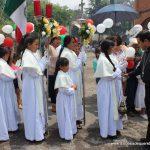 Confirmaciones en Las Lajitas de la Parroquia del Sagrado Corazón de Jesús