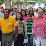 Visita a La Alameda, en la Parroquia de San José (Iturbide)