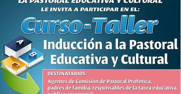 Curso-Taller a la Pastoral Educativa y Cultural
