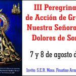 Tercera Peregrinación a la Basílica de Nuestra Señora de los Dolores de Soriano