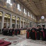 JUBILEO DE LOS SACERDOTES. Segunda meditación dirigida por el Papa Francisco.