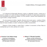 COMUNICADO CEM: Solidaridad con víctimas del terremoto en Italia.