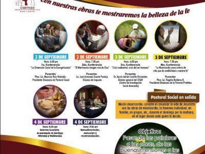 INVITACIÓN: Jornadas Sociales. Comisión Diocesana para la Pastoral Social.