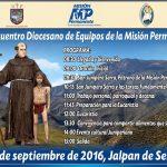 INVITACIÓN: 1er. Encuentro Diocesano de Equipos de la Misión. Permanente