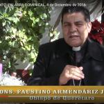 II DOMINGO DE ADVIENTO,  VIDEO: PALABRA DOMINICAL, 4 de diciembre de 2016.