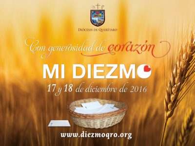INVITACIÓN: DIEZMO 2016 Días: 17 Y 18 de Diciembre de 2016