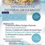CONVOCATORIA: DIPLOMADO PASTORAL DE LA SALUD.