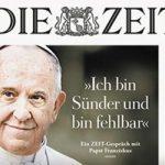 S.S. FRANCISCO: Síntesis de la entrevista concedida a Die Zeit