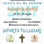 """ENJES """"Encuentro Nacional de jóvenes en el Espíritu Santo"""" """"JESÚS ES MI SEÑOR""""."""