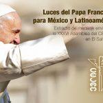 DESDE LA CEM:  Luces del Papa Francisco para México y Latinoamérica.