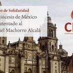 DESDE LA CEM: Comunicado de solidaridad con la Arquidiócesis de México.