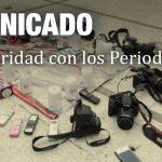 DESDE LA CEM:  Comunicado de Solidaridad con los Periodistas.