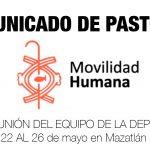 DESDE LA CEM: Comunicado de Pastoral de Movilidad Humana.