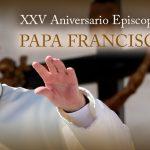 DESDE LA CEM: Felicitación Aniversario Episcopal XXV del Papa Francisco