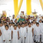 CONFIRMACIONES, COMUNIDAD DE LA CUEVA, Parroquia de Nuestra Señora del Rosario, en Bravo.