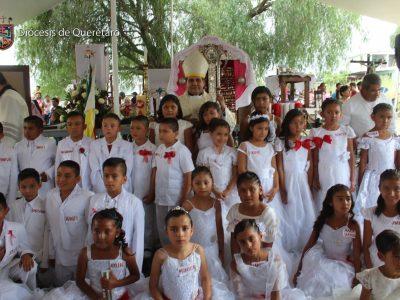 FIESTA PATRONAL DE LA SANTA CRUZ, Comunidad de Mompaní, Qro.