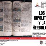 """ÁGAPES CULTURALES DEL MUSEO """" LOS HIPOLITOS Y LA HERBOLARIA"""""""