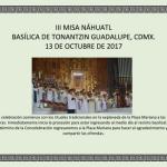 DESDE LA CEM: III Misa Náhuatl en la Basílica Tonantzin Guadalupe.