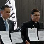 DESDE LA CEM: Se firma convenio de colaboración entre la CEM y la FEPADE