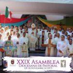 HOMILÍA EN LA SANTA MISA PARA CONCLUIR LA XXIX ASAMBLEA DIOCESANA DE PASTORAL.