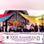 """PUNTUALIZACIONES """"AÑO DE LA JUVENTUD""""  XXIX ASAMBLEA DIOCESANA DE PASTORAL."""