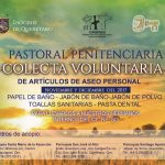 COLECTA VOLUNTARIA DE ARTÍCULOS DE ASEO PERSONAL A FAVOR DE NUESTROS HERMANOS INTERNOS DEL CERESO.
