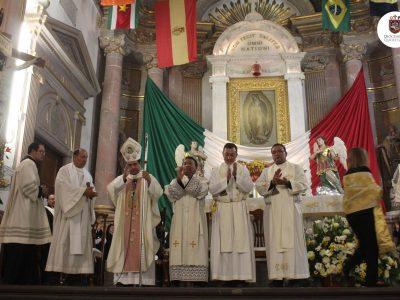 CELEBRACIÓN EUCARÍSTICA SANTUARIO DE NUESTRA SEÑORA DE GUADALUPE (LA Congregación). Querétaro.