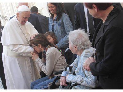 Mensaje del Papa para la Jornada Mundial del Enfermo 2018.