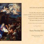 Mensaje de Navidad  de Mons. Faustino Armendáriz Jiménez  IX Obispo de Querétaro.