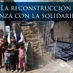 DESDE LA CEM: La reconstrucción avanza con la solidaridad.
