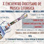 X Encuentro Diocesano de Música Litúrgica.