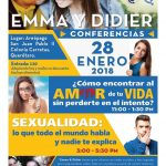CONFERENCIAS: EMMA Y DIDIER