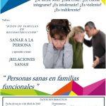 """Taller: """"Hijos de familias en reconstrucción"""" Sanar a la persona y aprender a tener : ¡Relaciones sanas!"""