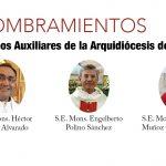 DESDE LA CEM: Obispos Auxiliares de la Arquidiócesis de Guadalajara.