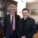 Encuentro entre la Secretaria General de la CEM y la Embajada italiana