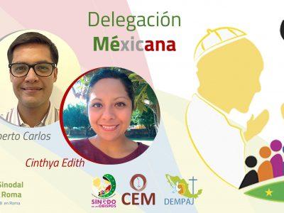 DESDE LA CEM: Delegación Mexicana en el Pre Sínodo de Jóvenes en Roma.