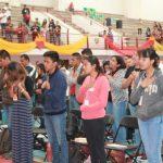 REUNIÓN DE JÓVENES DE RCCES, en el Instituto La Paz