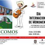 """""""Ágapes Culturales del Museo"""" """"Día Internacional de Monumentos """""""