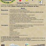 FESTIVAL VOCACIONalizARTE, CATEGORÍA: TEATRO.
