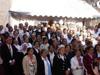 MISA ENCUENTRO DIOCESANO DE M.E.C. (Ministros Extraordinarios de la Comunión).