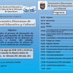 ENCUENTRO DIOCESANO DE PASTORAL EDUCATIVA Y CULTURAL.