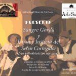 Programa de teatro comedia corta y farsa….. En el Museo de Arete Sacro.