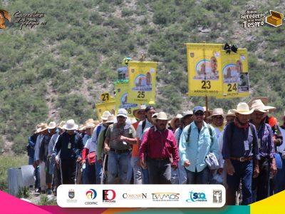 6ta.  JORNADA:  Pinal de Amoles – Peña Blanca, 128 PEREGRINACIÓN MASCULINA,   QRO. AL TEPEYAC 2018.