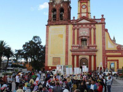 Jornada 8:  Vizarrón –  Cadereyta. Peregrinas al Tepeyac 2018.