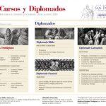 """CURSOS Y DIPLOMADOS 2018,  DE LA ESCUELA BÍBLICA DIOCESANA """"VERBUM VITAE"""" ."""